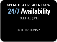 Speak to a Live Agent Now - 24/7 Availability:  Toll Free (U.S.): 800-486-7077 / International: 650-697-5548